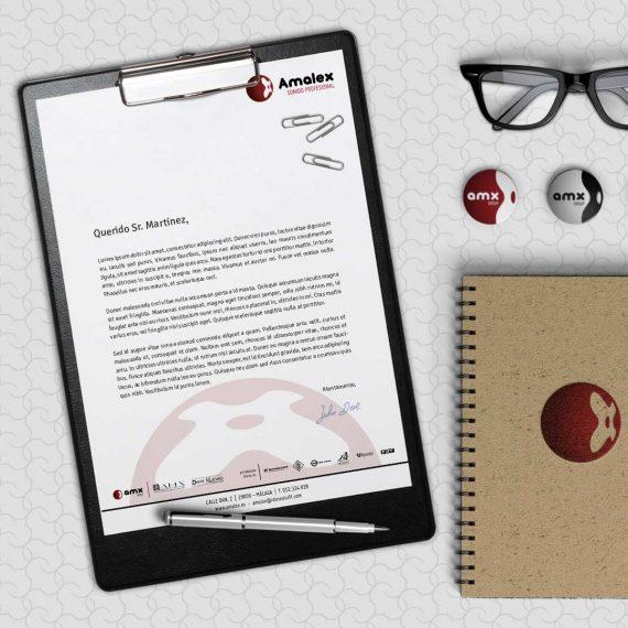 Diseño de materiales corporativos Málaga. Diseño gráfico Málaga. Estudio de publicidad Málaga.