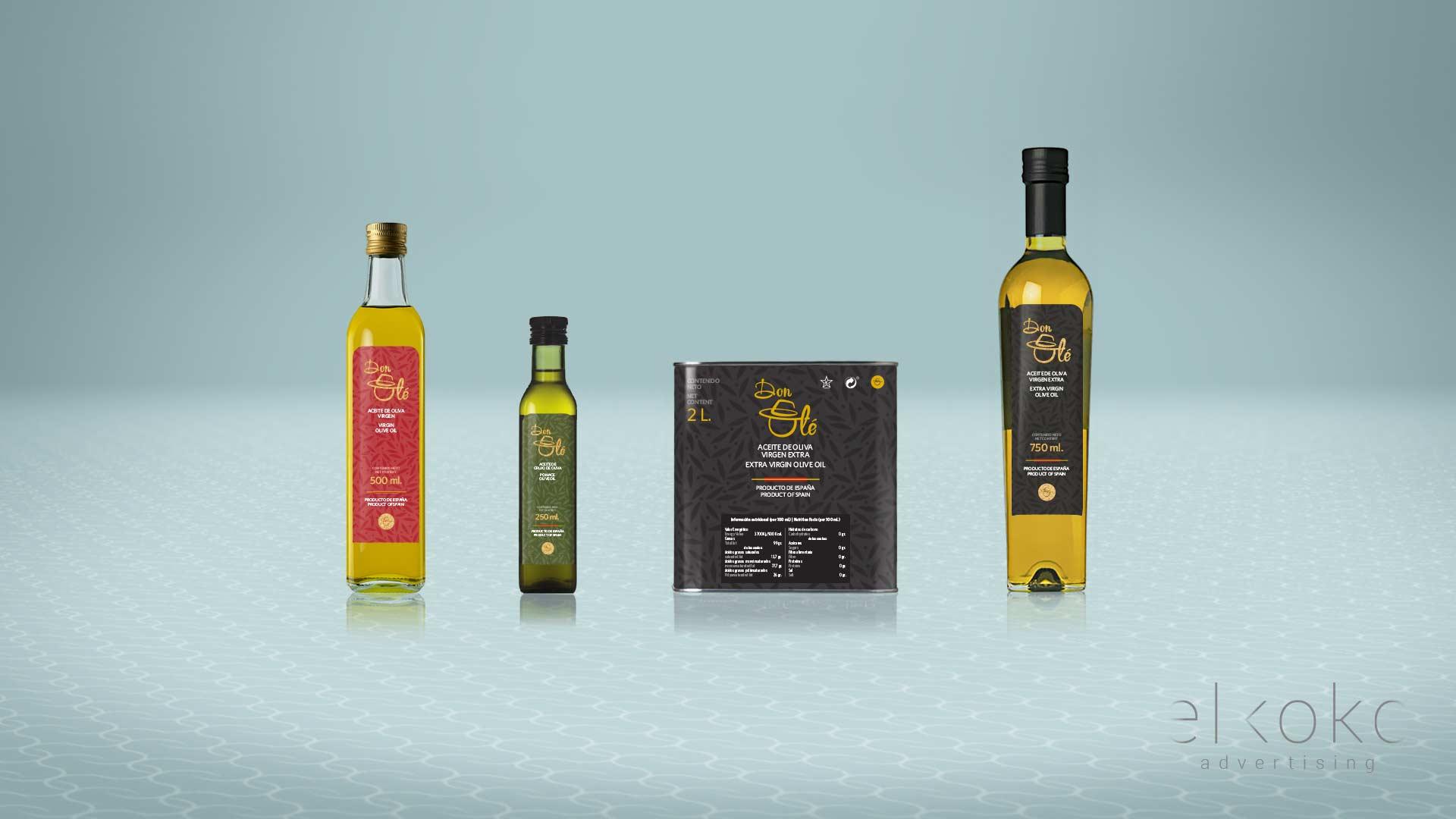 Branding y Diseño gráfico. Diseño de Packaging en Málaga.