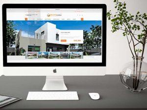 Diseño de sitio web WordPress para inmobiliaria en Málaga. Mejor Agencia de Publicidad en Málaga.
