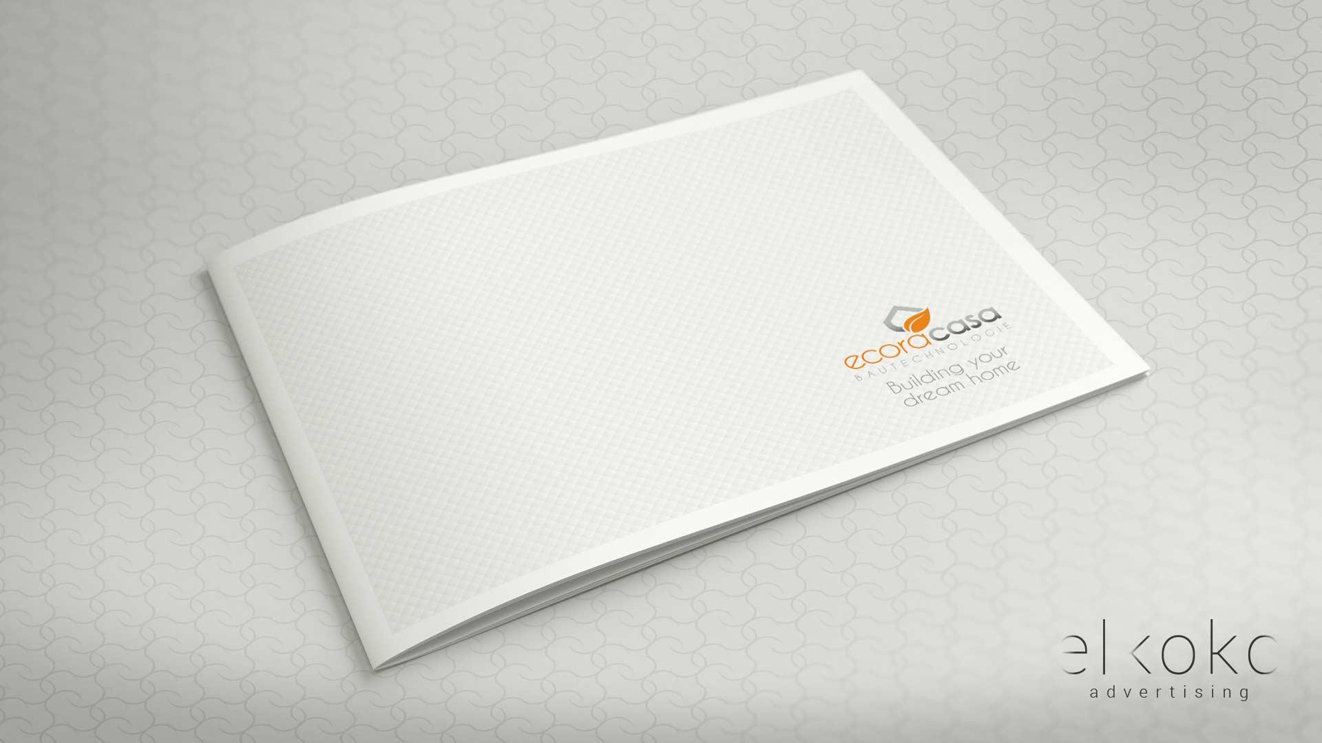 Diseño de catálogo para inmobiliaria en Málaga. Mejor Agencia de Publicidad en Málaga. Elkoko.