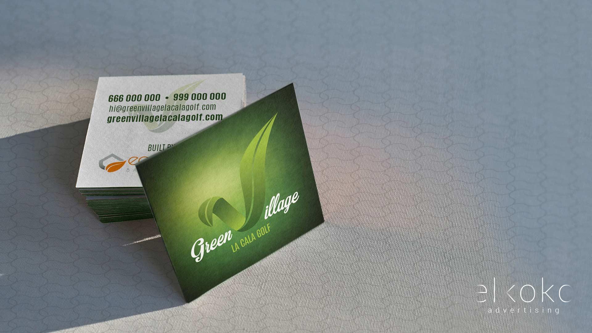 Diseño de tarjetas publicitarias. Diseño gráfico en Málaga. Imagen corporativa.