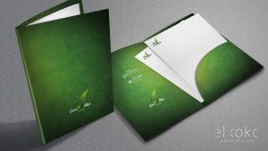 Diseño de carpetas publicitarias. Diseño gráfico en Málaga. Imagen corporativa.