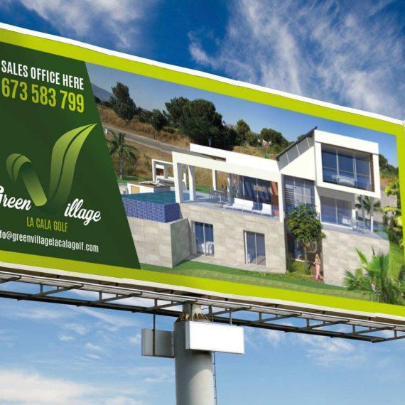 Diseño de carteles de publicidad en Málaga. El mejor estudio de diseño gráfico en Málaga. Rotulación Málaga.