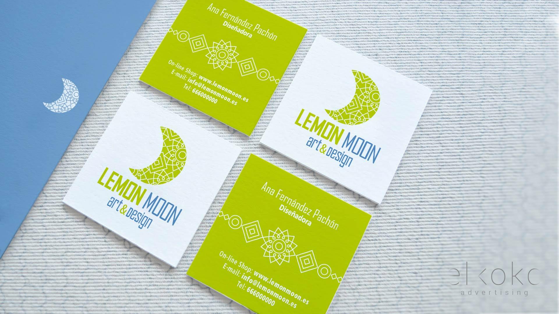 Diseño de logotipo y materiales corporativos para marca en Málaga.