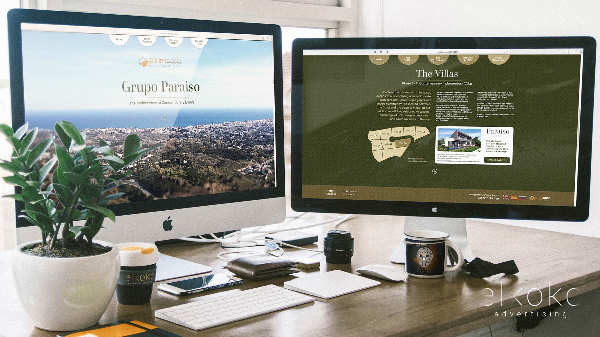 Diseño web en Málaga. Diseño de Estudio creativo málaga. Diseñadores web en Málaga.