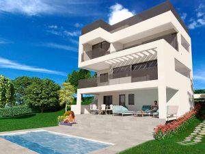 Infografias 3D para viviendas. Modelados 3D y render 3D.