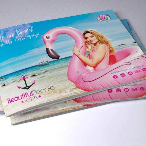 Branding para eventos y diseño de dossier publicitario Málaga.