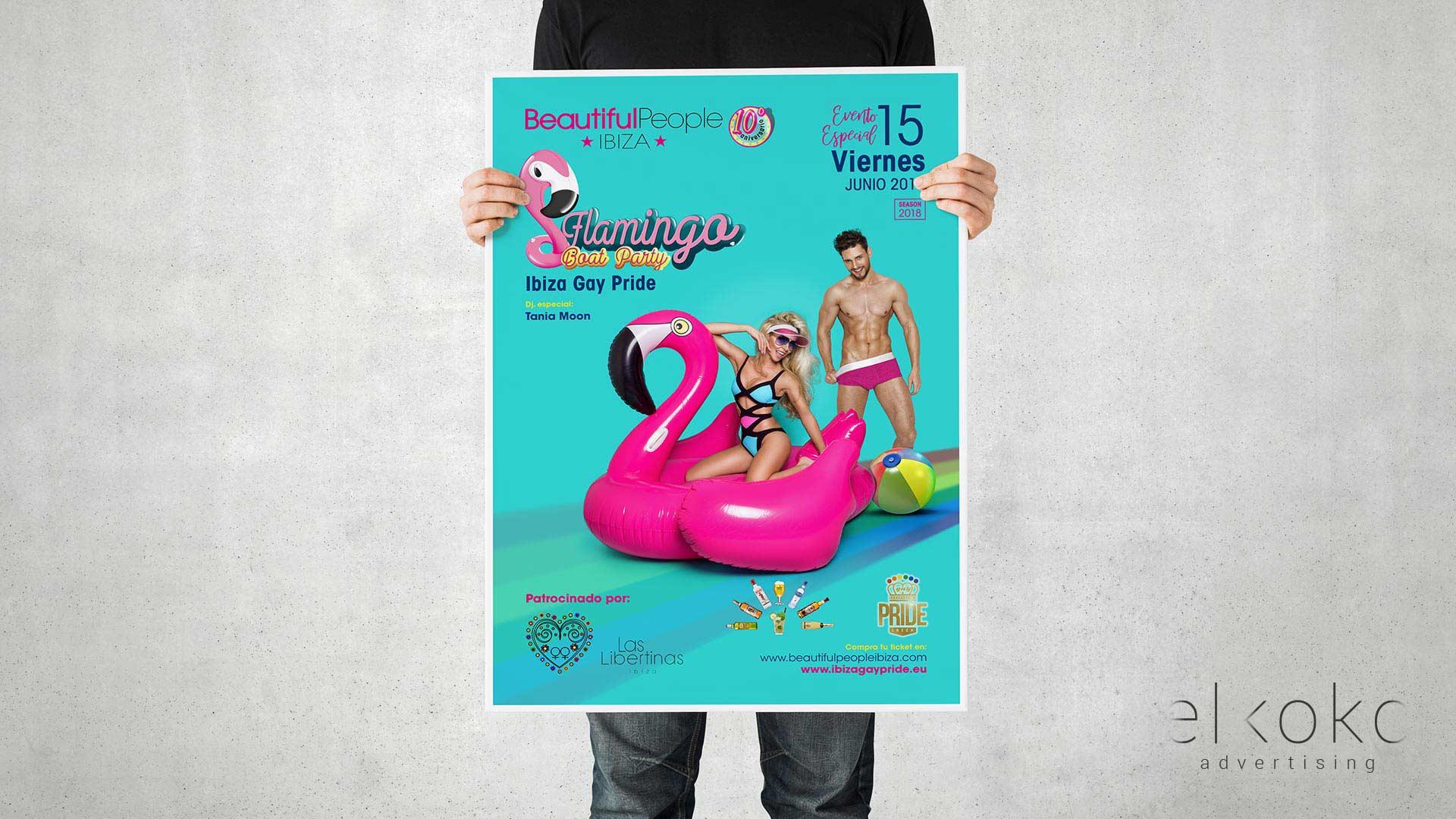 Diseño de Pósters Málaga. Materiales publicitarios en Málaga.
