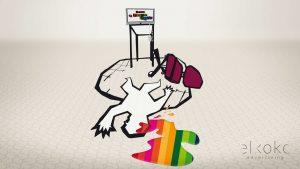 Ilustración en Málaga. Elkoko Workshop. Ilustradores en Málaga. Ilustraciones para publicidad.