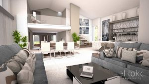Infoarquitectura Málaga. Infografias 3D para viviendas. Modelados 3D y renders 3D