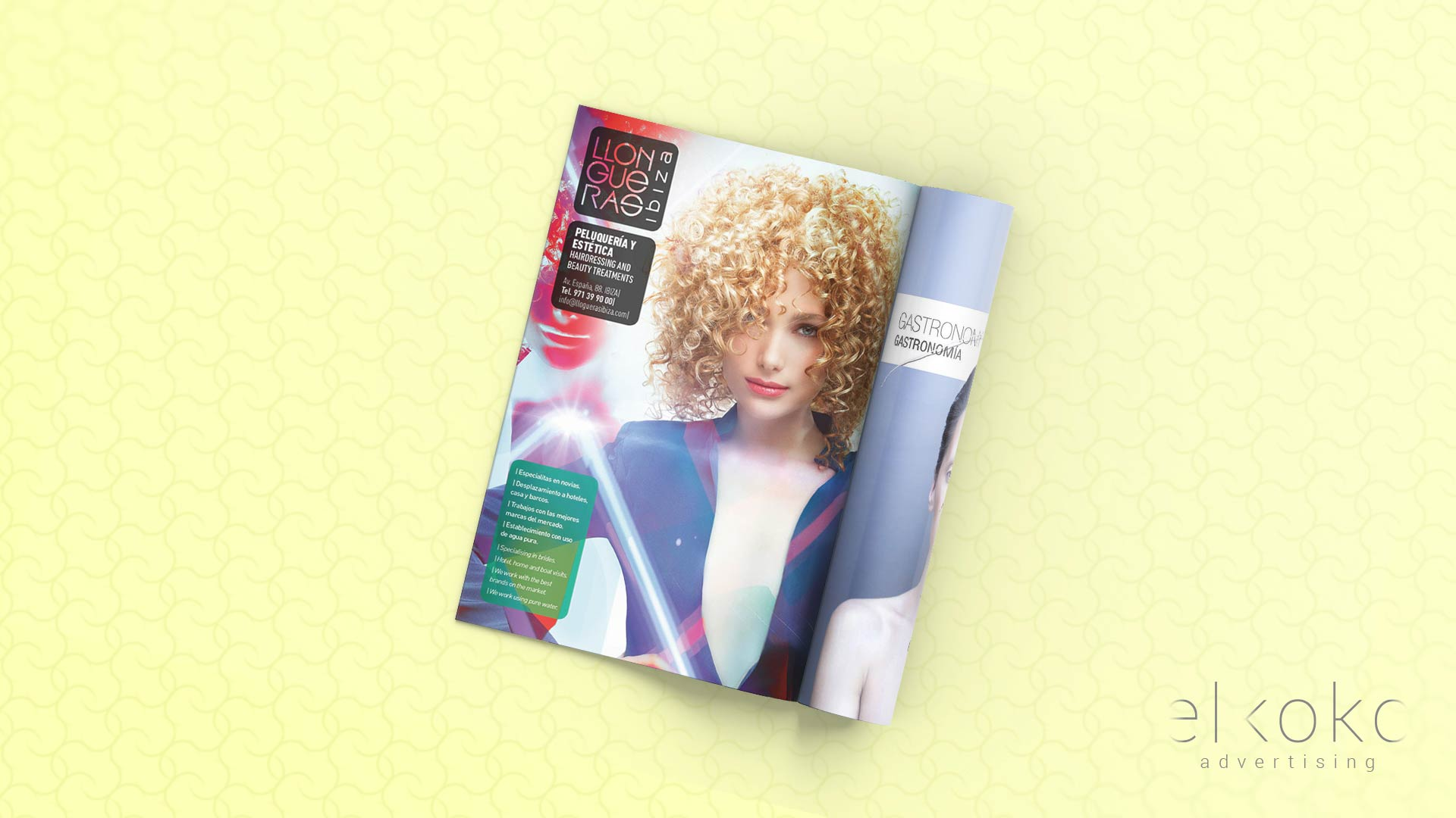 publicidad para revistas, diseño gráfico málaga.