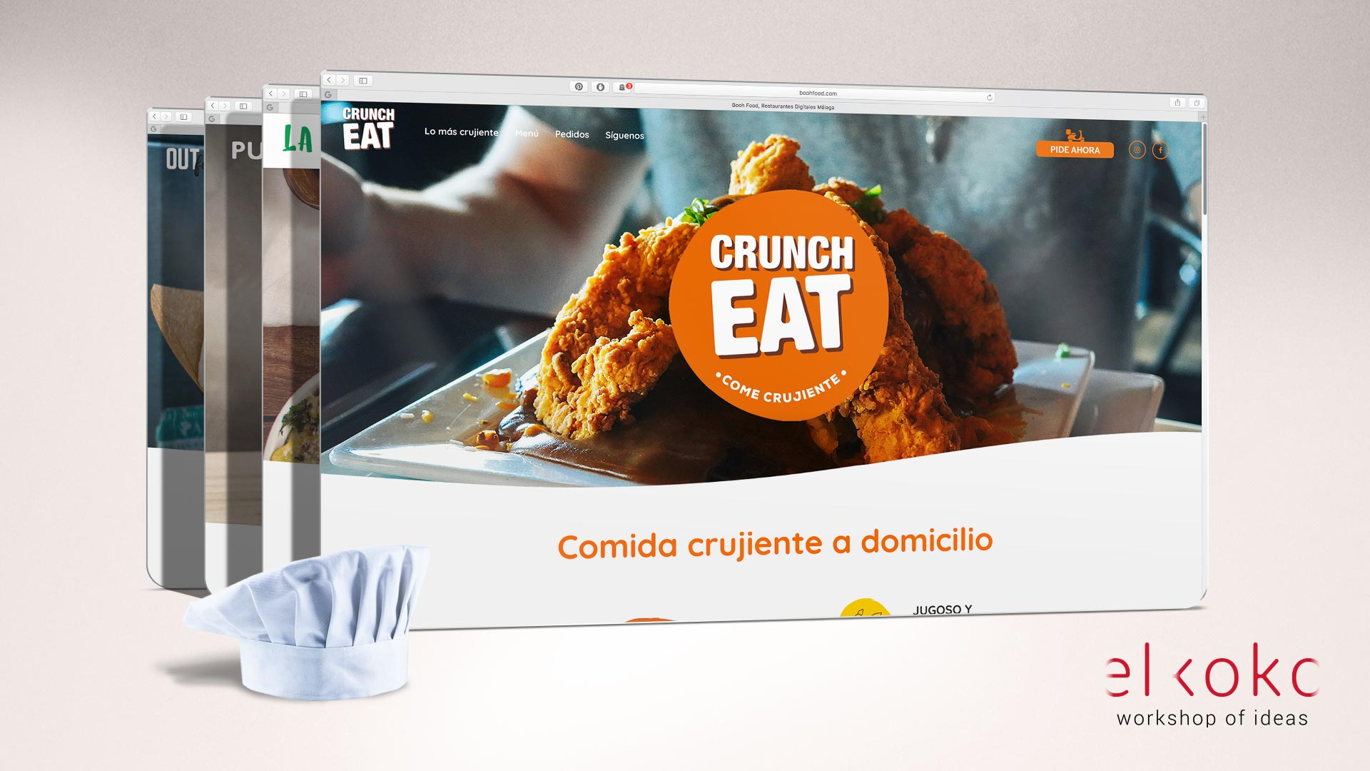Diseño web wordpress para restaurantes