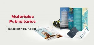 Materiales publicitarios, materiales de marketing.