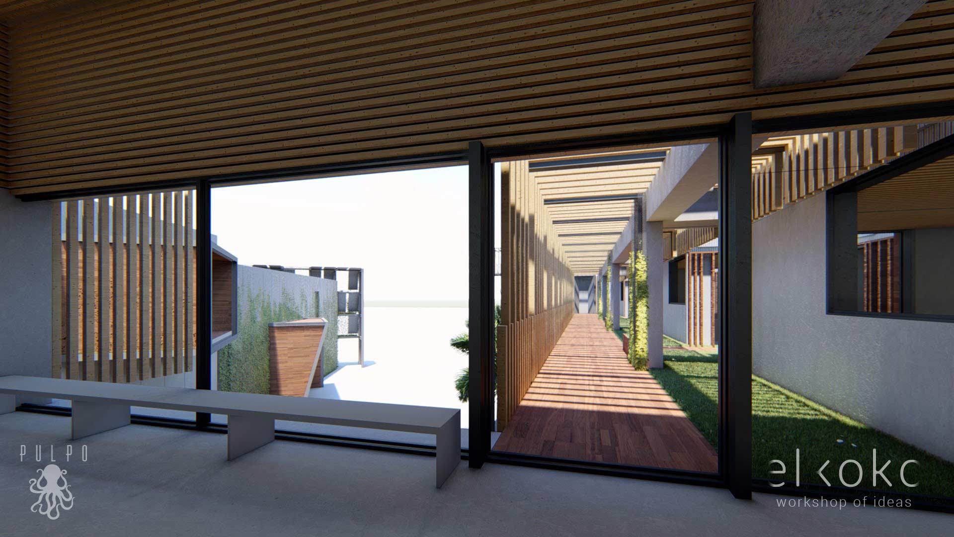 Infografias 3D Edificios Comerciales. Renderings 3D.