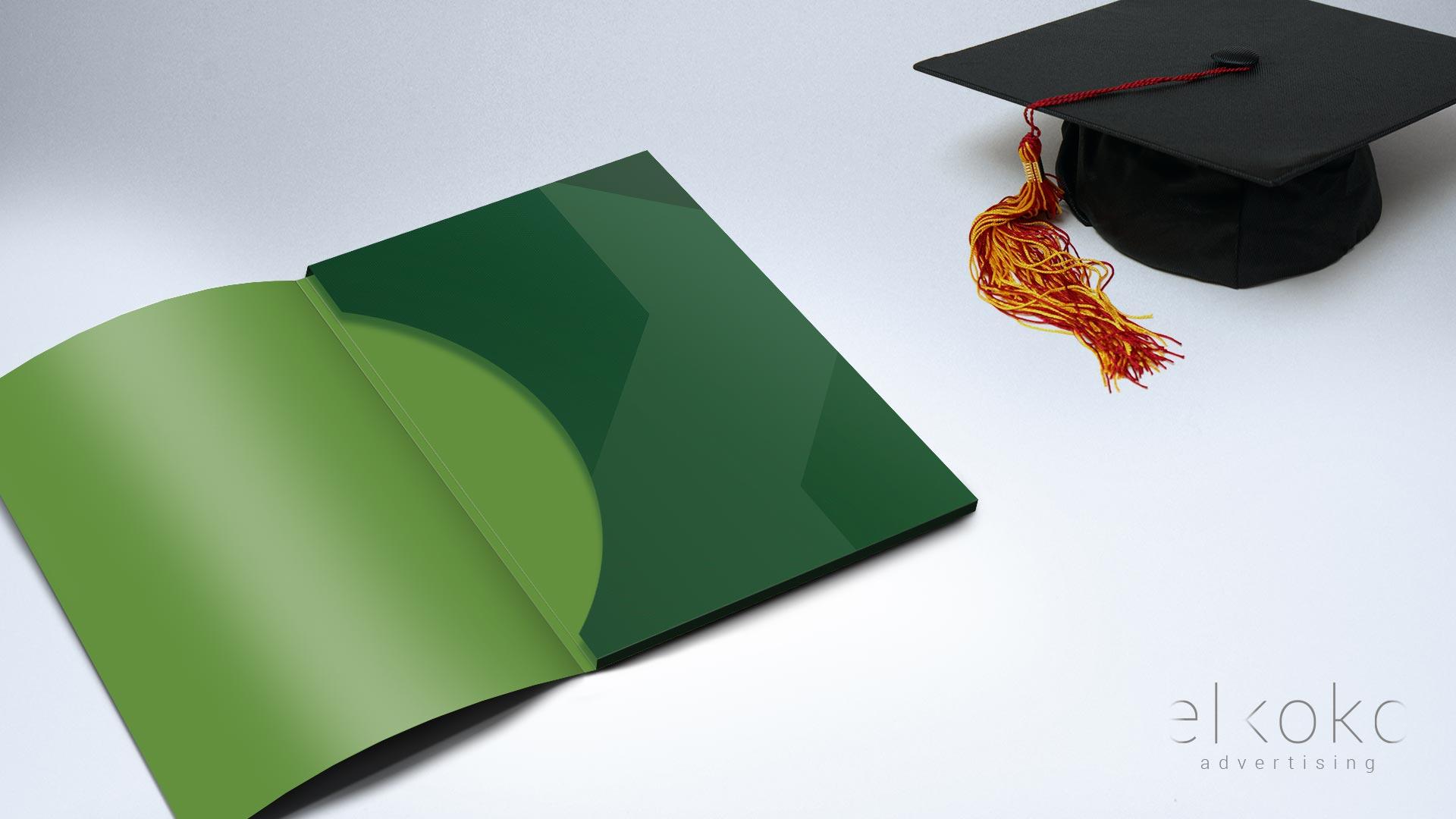 Diseño de carpetas corporativas para cursos