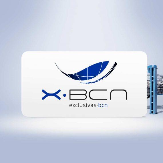 Diseño gráfico para X-BCN, Exclusivas BCN, Barcelona