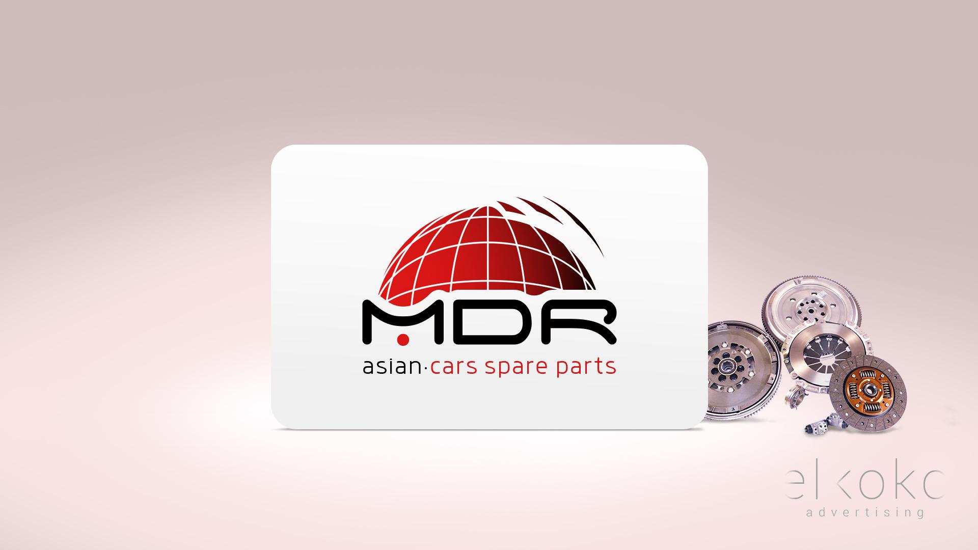 Diseño de Logotipo MDR