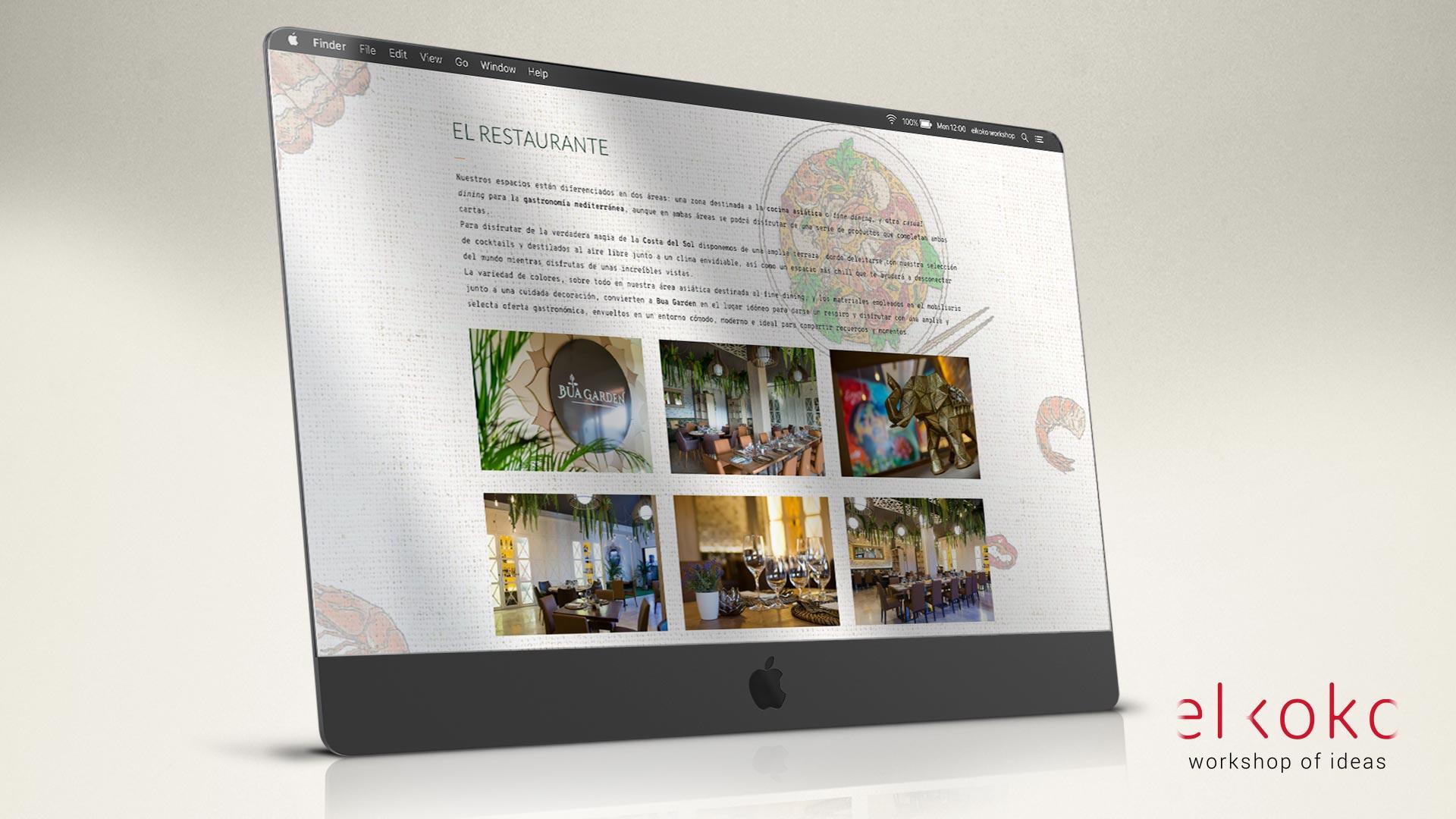 Diseño web para restaurantes en Málaga