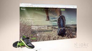 Diseño web para evento deportivo trail