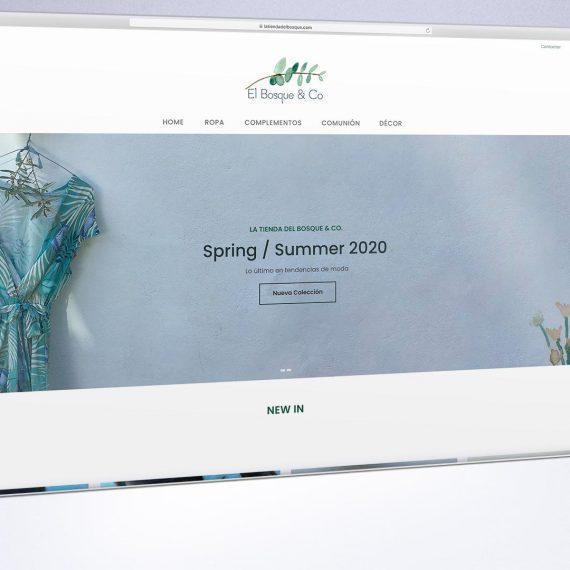 Tienda online para tienda de moda