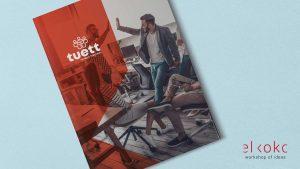 Diseño de Catálogo Corporativo Málaga. Agencia de colocación TuEtt. de Catálogo Corporativo Málaga