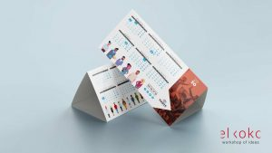 Diseño de Calendario Corporativo