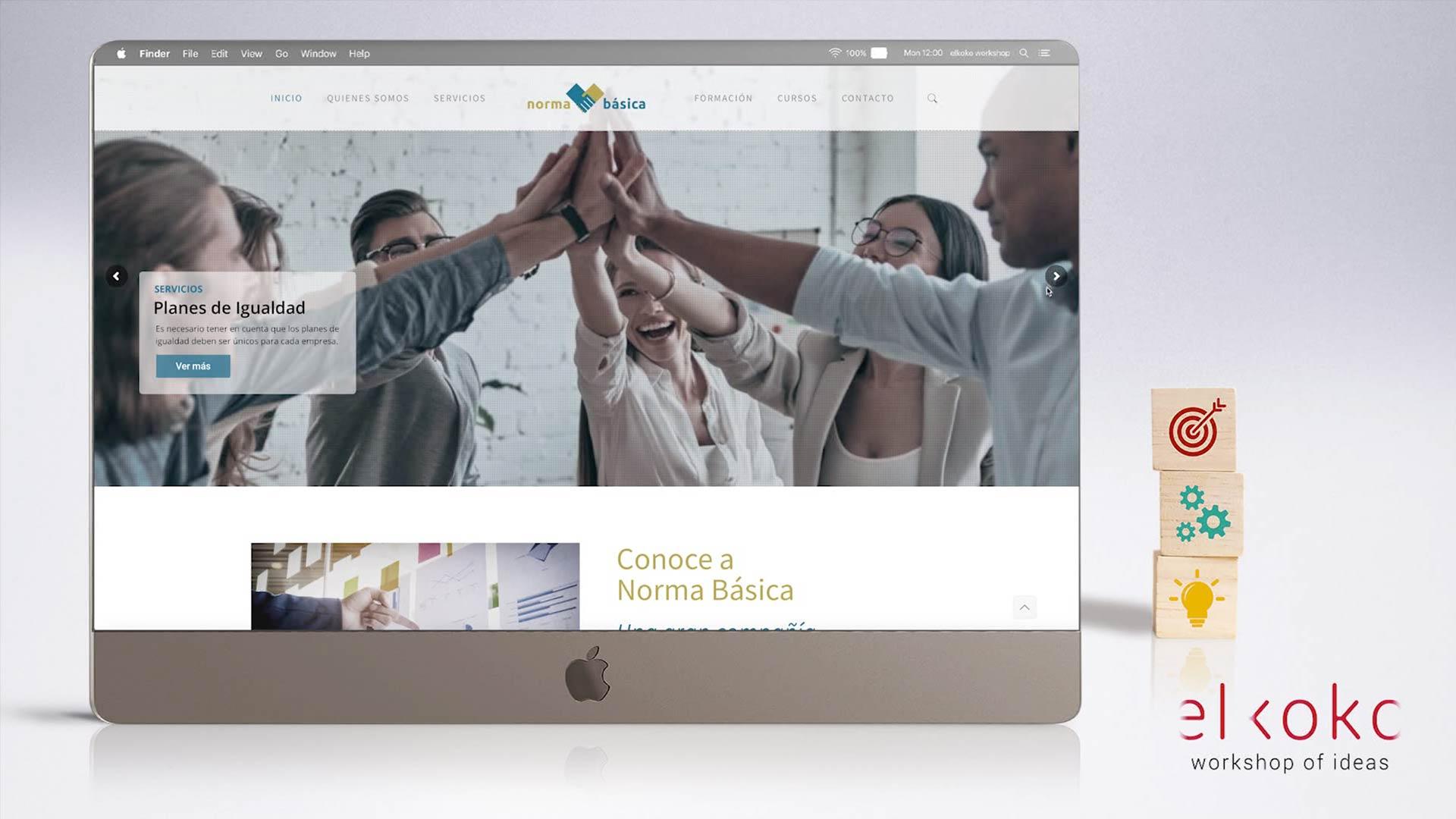 Diseño Web Málaga, Agencia Elkoko Workshop